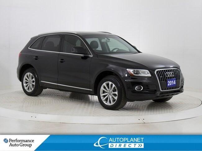 2014 Audi Q5 2.0 Quattro, Progressiv, Pano Roof, Heated Seats! SUV