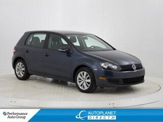 2013 Volkswagen Golf 2.5L Comfortline, Heated Seats, Bluetooth! Hatchback