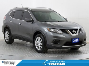 2016 Nissan Rogue S AWD, Back Up Cam, New Tires/Brakes! SUV