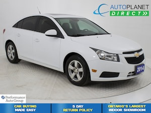 2014 Chevrolet Cruze 2LT, Sunroof, Back Up Cam, Heated Seats!