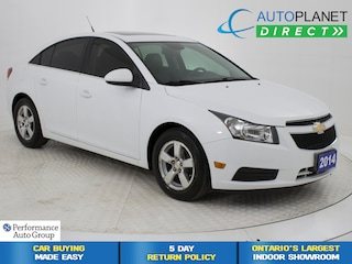 2014 Chevrolet Cruze 2LT, Sunroof, Back Up Cam, Heated Seats! Sedan