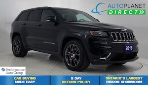 2016 Jeep Grand Cherokee SRT HEMI V8 4x4, Customer Preferred Pkg!