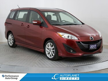 2017 Mazda Mazda5 GT, Heated Seats, Leather, Bluetooth! Wagon