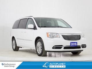 2015 Chrysler Town & Country Touring-L, 7 Passenger, Back Up Cam, Remote Start! Minivan