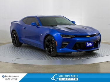 2017 Chevrolet Camaro 2SS, Heads Up Display, Navi, Safe Driver Tech! Coupe