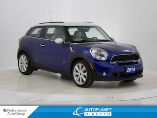 2014 MINI Cooper Paceman Cooper S Turbo AWD, Navi, Sunroof, Heated Seats! SUV