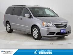 2014 Chrysler Town & Country Touring, DVD, Back Up Cam! Van Passenger Van