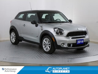 2014 MINI Cooper Paceman S AWD, Navi, Pano Roof, Heated Seats! Hatchback