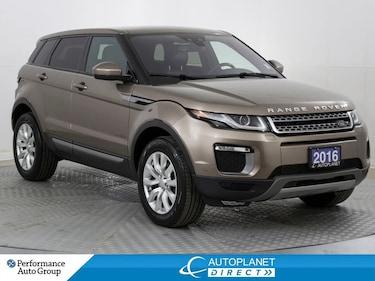 2016 Land Rover Range Rover Evoque SE, 4x4, Navi, Back Up Cam, Parking Aid! SUV