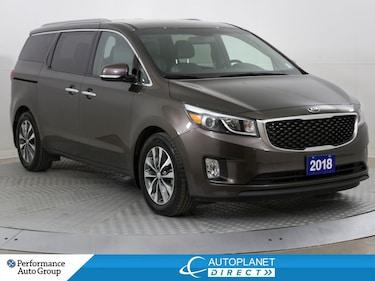 2018 Kia Sedona SX+, 7 Passenger, Back Up Cam, Memory Seat! Minivan
