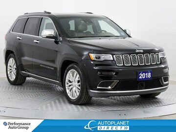 2018 Jeep Grand Cherokee Summit 4x4, Cust. Pref. Pkg, Navi, U-Connect! SUV