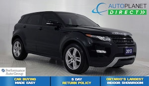 2013 Land Rover Range Rover Evoque Dynamic 4x4, Navi, Back Up Cam!