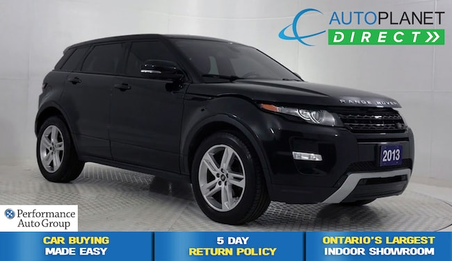 2013 Land Rover Range Rover Evoque Dynamic 4x4, Navi, Back Up Cam, Pano Roof! SUV