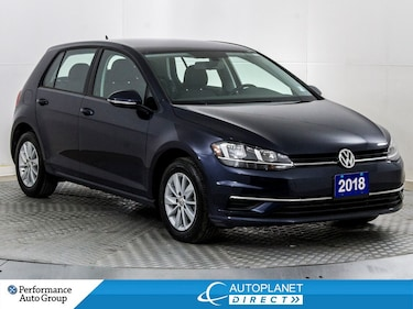 2018 Volkswagen Golf TSI Trendline, Apple CarPlay, Android Auto! Hatchback