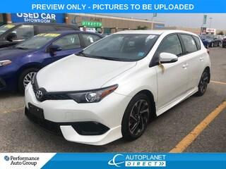 2017 Toyota Corolla iM Back Up Cam, Heated Seats, Bluetooth! Hatchback
