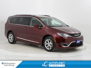 2017 Chrysler Pacifica Touring-L Plus, Navi, Back Up Cam, BluRay, DVD!