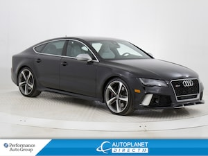 2014 Audi RS 7  Quattro, S Line, Navi, Heads Up Display, Sunroof!