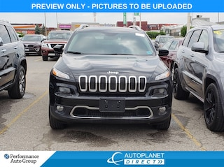 2017 Jeep Cherokee Limited 4x4, Luxury Group, Navi, Back Up Cam! SUV