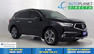 2017 Acura MDX AWD, Elite Pkg, 6 Passenger, Navi, Moon Roof! SUV