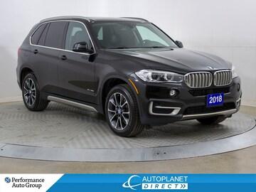 2018 BMW X5 30i xDrive, Premium Pkg, Navi, Pano Roof! SUV