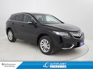 2017 Acura RDX  AWD, Sunroof, Back Up Cam, Memory Seat!