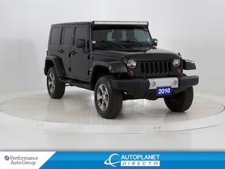 2010 Jeep WRANGLER UNLIMITED Sahara, Trail Rated 4x4, Heated Seats! SUV
