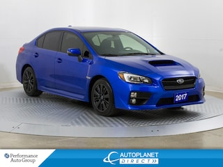 2017 Subaru WRX AWD, Sport Pkg, Sunroof, Back Up Cam, Bluetooth! Sedan