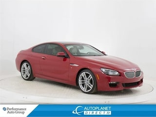 2015 BMW 650I Coupe xDrive, M Sport, Navi, Sunroof, Memory Seat! Coupe