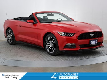 2015 Ford Mustang Convertible, Premium, Navi, Back Up Cam, Leather! Convertible