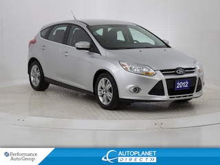 2012 Ford Focus SEL, Heated Seats, Bluetooth, Ontario Vehicle! Hatchback
