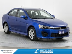 2016 Mitsubishi Lancer ES, Heated Seats, Bluetooth, Clean Carfax! Sedan