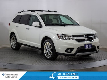 2018 Dodge Journey GT AWD, Leather, Heated Seats, Park Assist! SUV