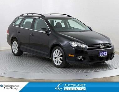 2013 Volkswagen Golf 2.0 TDI, Comfortline, Heated Seats, Bluetooth! Wagon