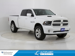 2013 Ram 1500 Sport Hemi 4x4, Navi, Sunroof, Back Up Cam! Truck Crew Cab