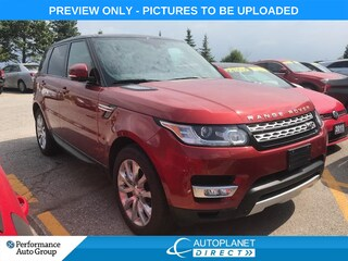 2014 Land Rover Range Rover Sport V8 Supercharged 4x4, Navi, Pano Roof, DVD! SUV