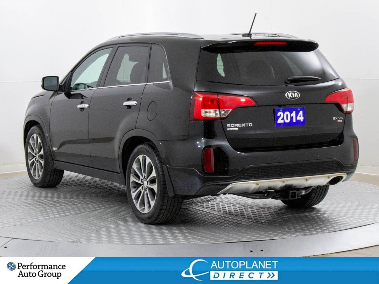 2014 Kia Sorento SX GDI AWD, Navi, Back Up Cam, Memory Seat!