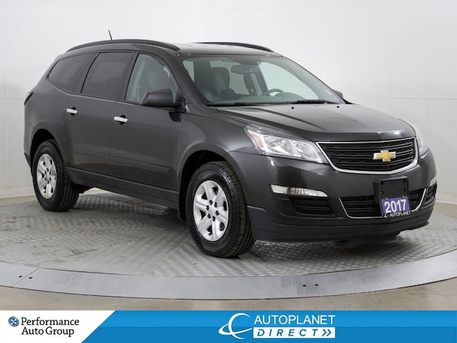 2017 Chevrolet Traverse LS AWD, 8 Passenger, Back Up Cam, Alloys! SUV