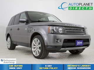 2011 Land Rover Range Rover Sport Supercharged 4x4, Navi, Back Up Cam, Bluetooth! SUV