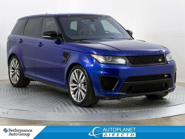 2016 Land Rover Range Rover Sport V8 SVR Supercharged 4x4, Heads Up Display! SUV