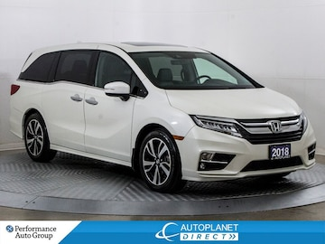 2018 Honda Odyssey Touring, Navi, Remote Start, Cabin Talk/Watch! Van Passenger Van