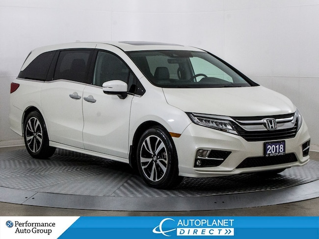 2018 Honda Odyssey Touring, Navi, Remote Start, Cabin Talk/Watch! Van Passenger Van