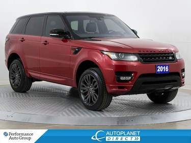 2016 Land Rover Range Rover Sport HST LE 4x4, Heads Up Display, Navi, Pano Roof! SUV