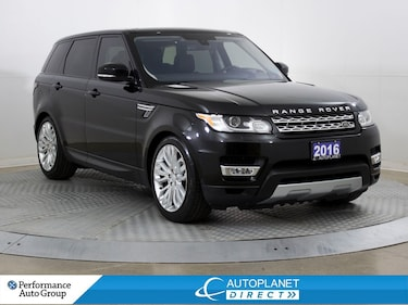 2016 Land Rover Range Rover Sport SE 44, Navi, Back Up Cam, Sunroof! SUV