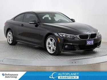 2019 BMW 4 Series xDrive, M Sport + Premium Essential Pkg! Coupe