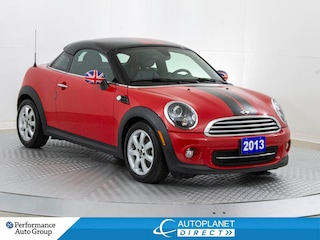 2013 MINI Cooper Coupe, Heated Seats, Bluetooth, New Brakes! Coupe