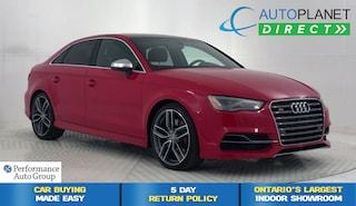 2015 Audi S3 /A3 Quattro, Technik, Navi, Back Up Cam,Moon Roof! Sedan