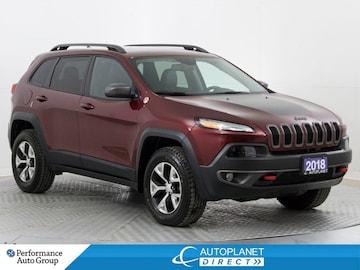 2018 Jeep Cherokee Trailhawk 4x4, Leather Plus, Cust. Preferred Pkg! SUV