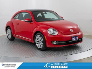 2013 Volkswagen Beetle  TDI Highline, Navi, Sunroof, Bluetooth! Hatchback