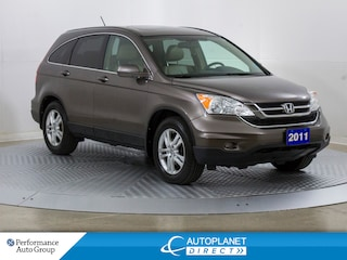 2011 Honda CR-V EX-L AWD, Sunroof, Heated Seats, Bluetooth! SUV