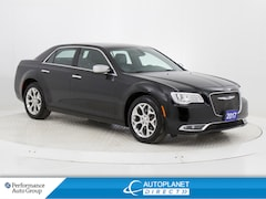 2017 Chrysler 300 C Platinum AWD, Navi, Back Up Cam, Pano Roof! Sedan